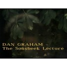 "Dan Graham ""The Sonsbeek Lecture"""